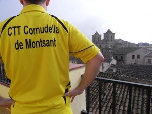 Derrota del CTT Cornudella a casa del Cambrils