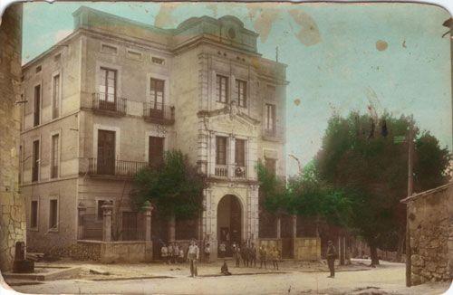 L'Ajuntament, l'any 1929.