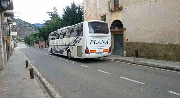 Un autocar de la línia Reus - Ulldemolins - la Granadella Foto: Elisabet Josa