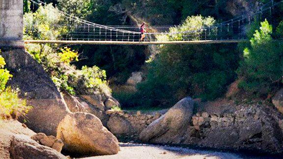 La UTSM discorre per paratges a Montsant com el pont de Sant Bartomeu, al terme d'Ulldemolins. Foto: Naturetime.es