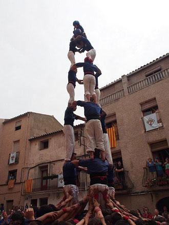 ls Brivalls van dedicar al poble de la Figuera el tercer 3d7 de la seva història. Foto: Helena Miró.