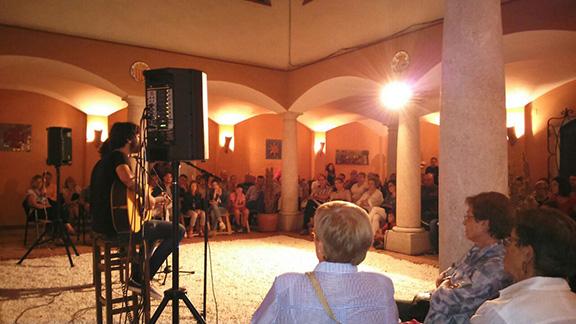 Una altra imatge del concert celebrat a la fundació Roger de Belfort. Foto: Cedida.