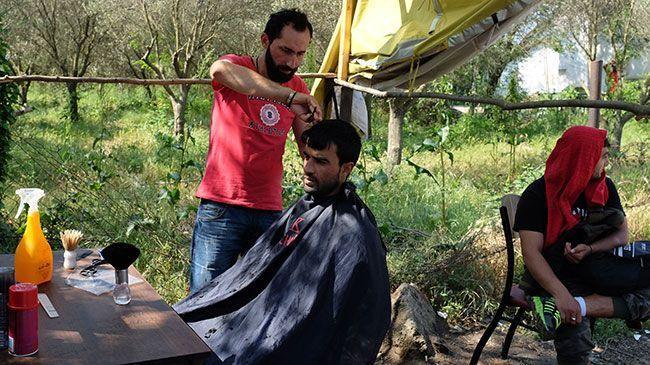 Ahmed, el perruquer d'Alep